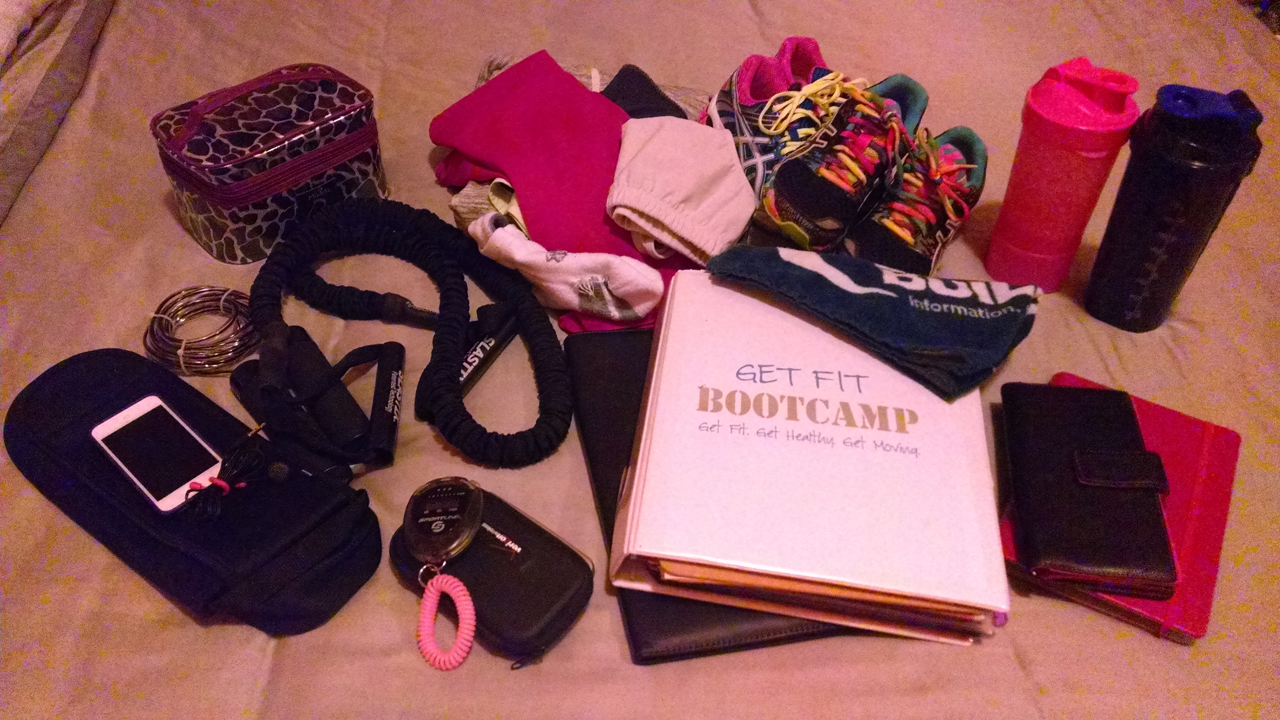All of my daily necessities that I carry in my bag