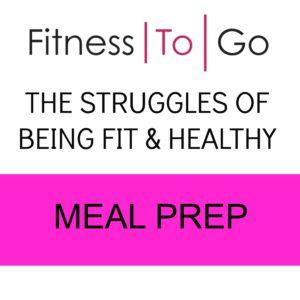 struggle meal prep