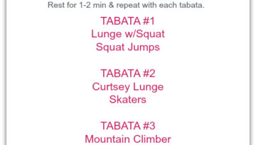 Wednesday Workouts