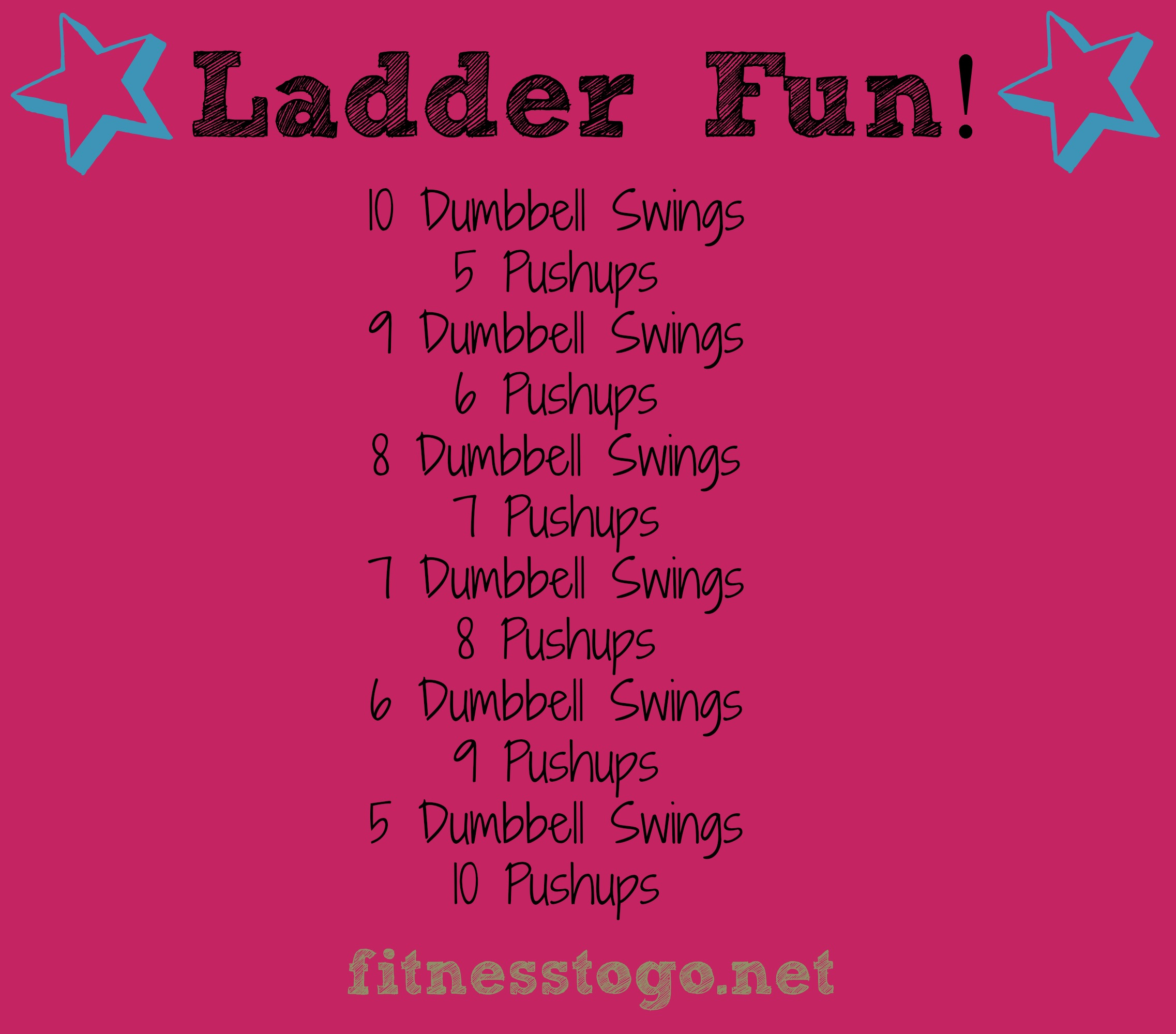 ladder fun